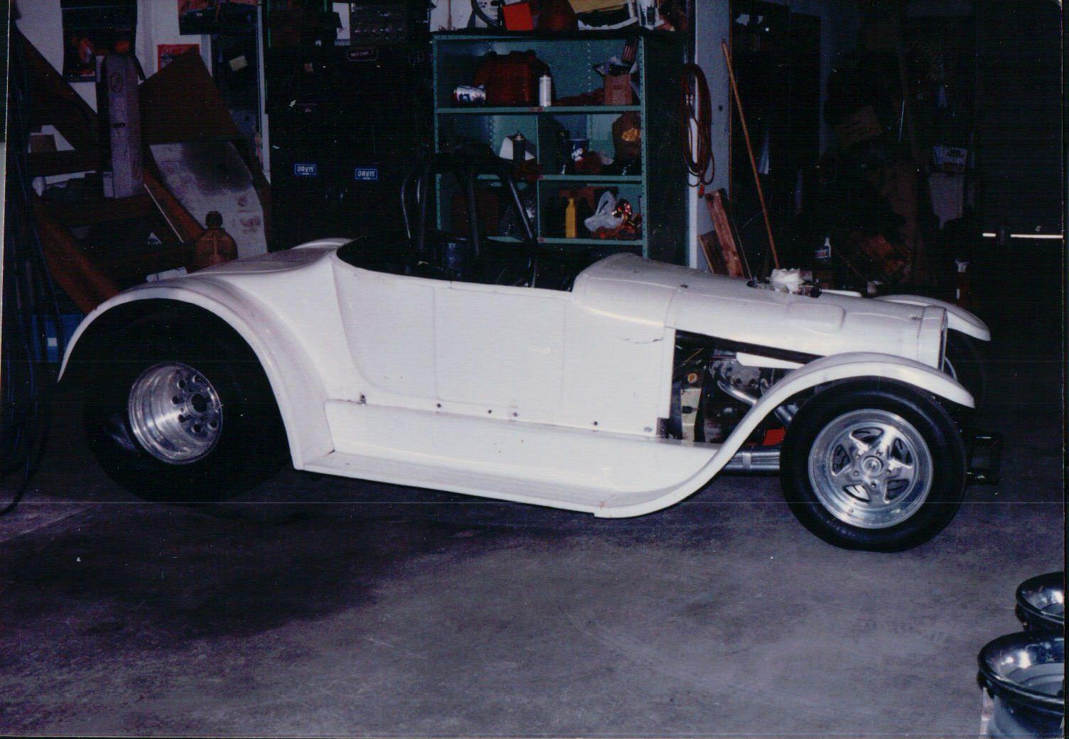 1927 T Super Gas Roadster Davis Racing Team