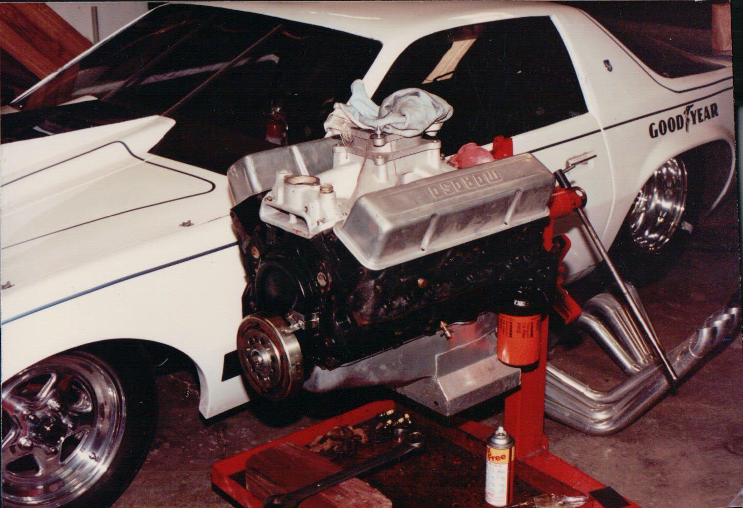 1984 Pontiac Firebird Drag Car | Davis Racing Team